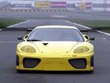 Ferrari 360 GTC 2003–04 wallpapers