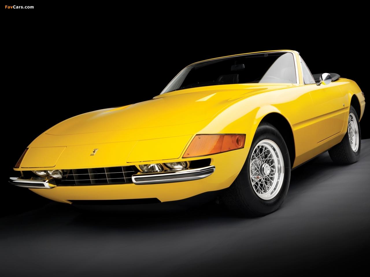 Ferrari 365 Gts 4 Daytona Spider 1970 74 Images 1280x960