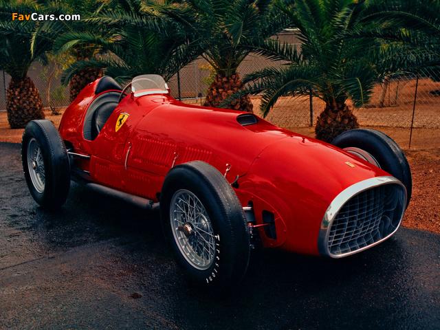 Ferrari 375 F1 1952 images (640 x 480)
