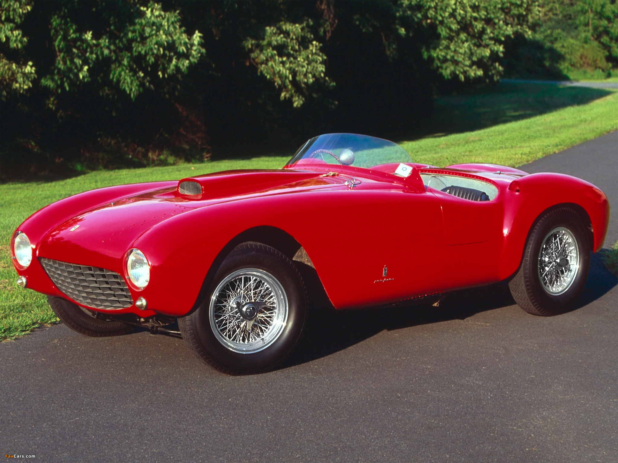 Ferrari 375 Mm Spyder 1953 54 Wallpapers 2048x1536