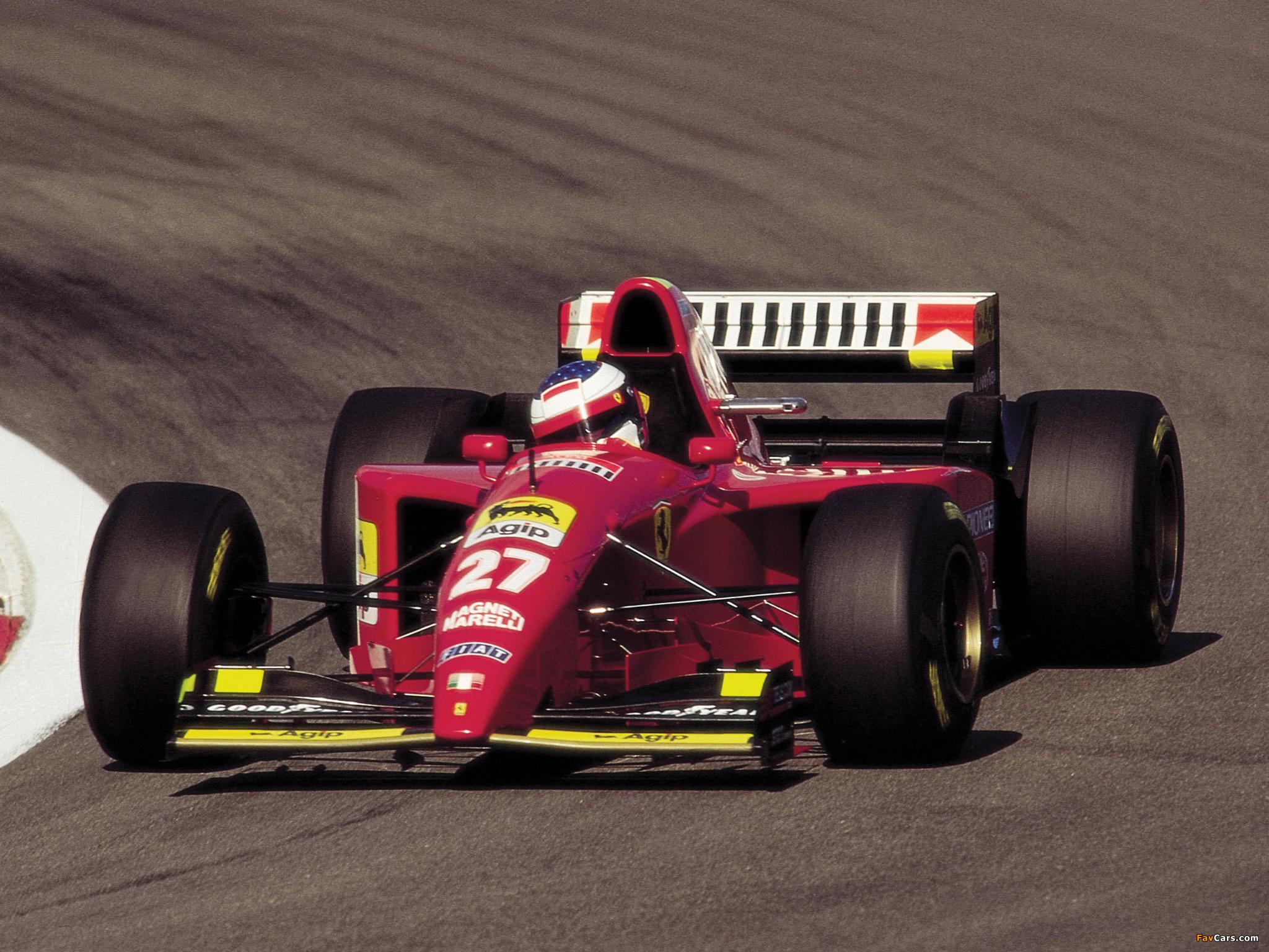 Ferrari f1 412t1