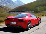 Ferrari 458 Italia 2009 wallpapers