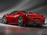 Ferrari 458 Spider 2011 images