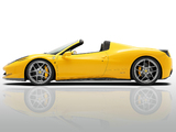 Novitec Rosso Ferrari 458 Spider 2012 wallpapers