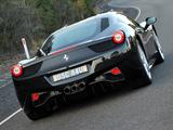 Images of Ferrari 458 Italia AU-spec 2009