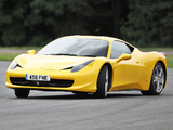 Images of Ferrari 458 Italia UK-spec 2009