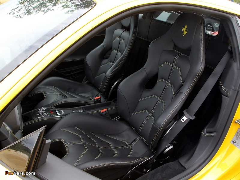 Images of Ferrari 458 Italia UK-spec 2009 (800 x 600)
