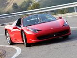 Photos of Ferrari 458 Spider 2011