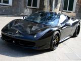 Photos of Anderson Germany Ferrari 458 Italia Black Carbon Edition 2011