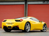 Pictures of Ferrari 458 Italia UK-spec 2009