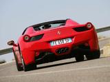 Pictures of Ferrari 458 Spider 2011
