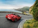 Pictures of Ferrari 458 Spider 2011–15
