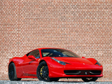 Edo Competition Ferrari 458 Italia 2010 wallpapers