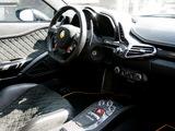 Anderson Germany Ferrari 458 Italia Black Carbon Edition 2011 wallpapers