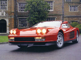 Ferrari 512 Testarossa 1984–87 images