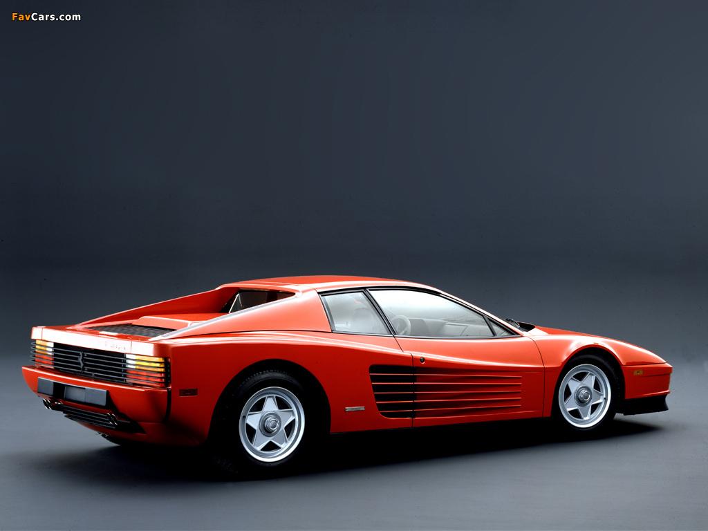 Ferrari 512 Testarossa Us Spec 1984 87 Photos 1024x768