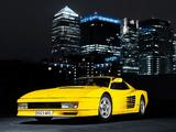 Ferrari 512 Testarossa 1984–87 photos