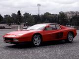 Ferrari 512 Testarossa 1984–87 pictures