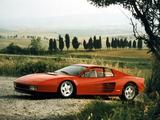 Ferrari 512 Testarossa 1984–87 wallpapers
