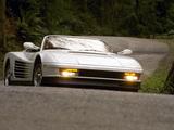 Ferrari 512 Testarossa Cabriolet 1985 images