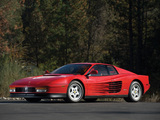 Ferrari 512 Testarossa US-spec 1987–92 photos