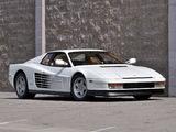 Ferrari 512 Testarossa US-spec 1987–92 pictures