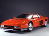 Ferrari 512 Testarossa 1987–92 pictures