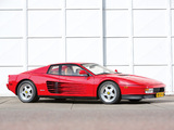 Images of Ferrari 512 Testarossa US-spec 1987–92