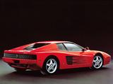 Images of Ferrari 512 TR 1992–94