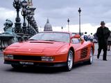Pictures of Ferrari 512 Testarossa 1984–87