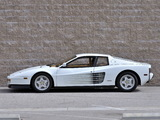 Pictures of Ferrari 512 Testarossa US-spec 1987–92