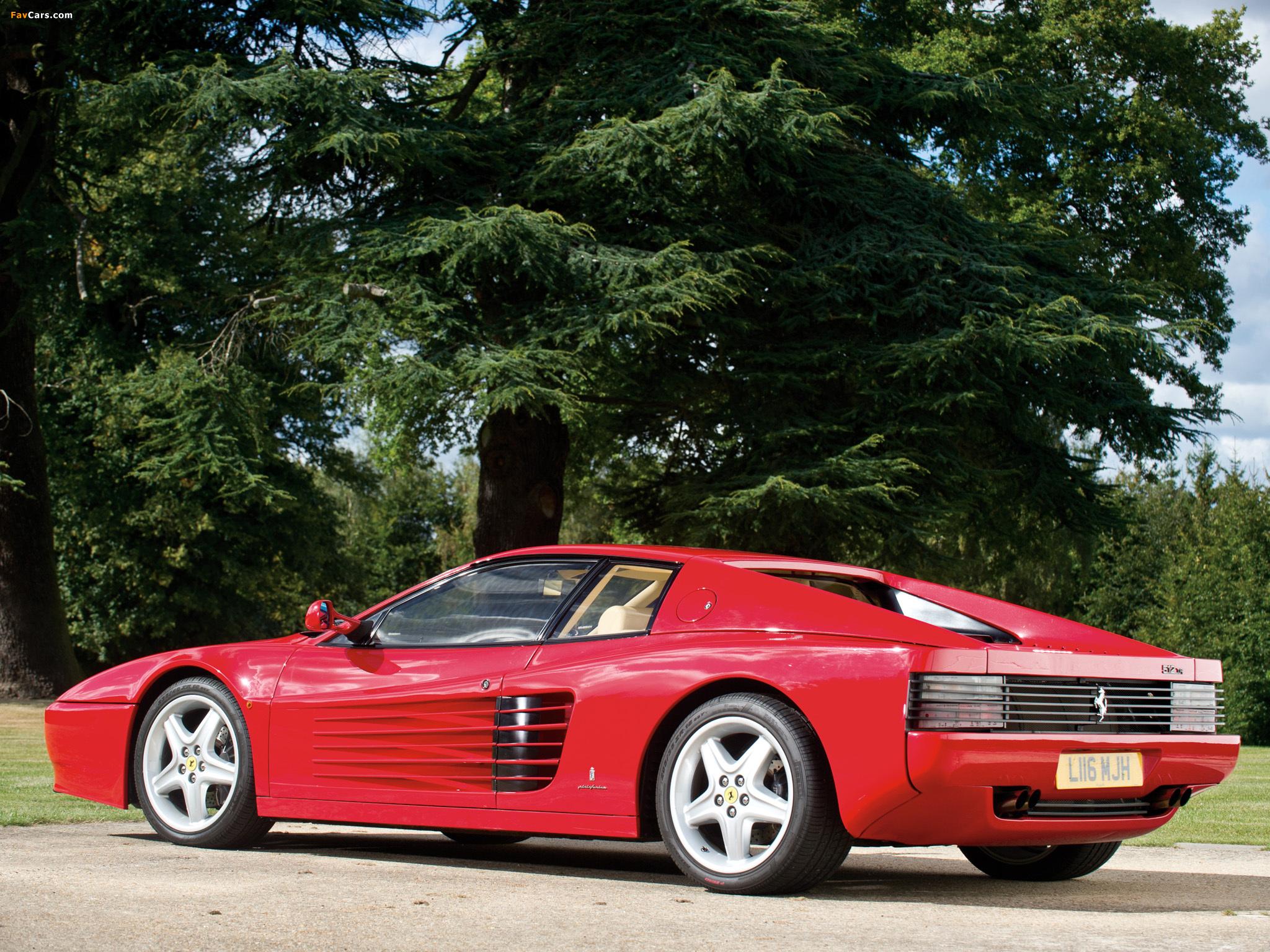 Pictures of Ferrari 512 TR 1992–94 (2048 x 1536)