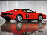 Ferrari 512 Testarossa US-spec 1987–92 wallpapers