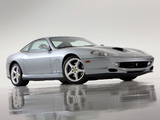 Ferrari 550 Maranello US-spec 1996–2002 photos