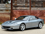 Ferrari 550 Maranello 1996–2002 wallpapers