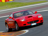 Images of Ferrari 575 M GTC Handling 2005–06