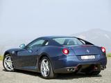 Ferrari 599 GTB Fiorano 2006–12 images