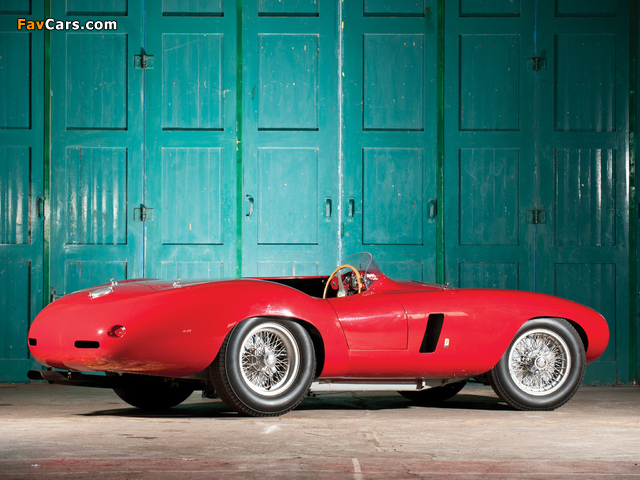Ferrari 750 Monza 1954–55 wallpapers (640 x 480)