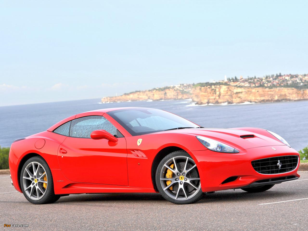 Photos of Ferrari California AU-spec 2009-12 (1280x960)