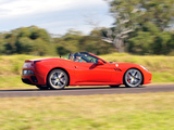 Pictures of Ferrari California AU-spec 2009–12