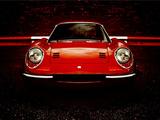 Ferrari Dino 206 GT 1968–69 wallpapers