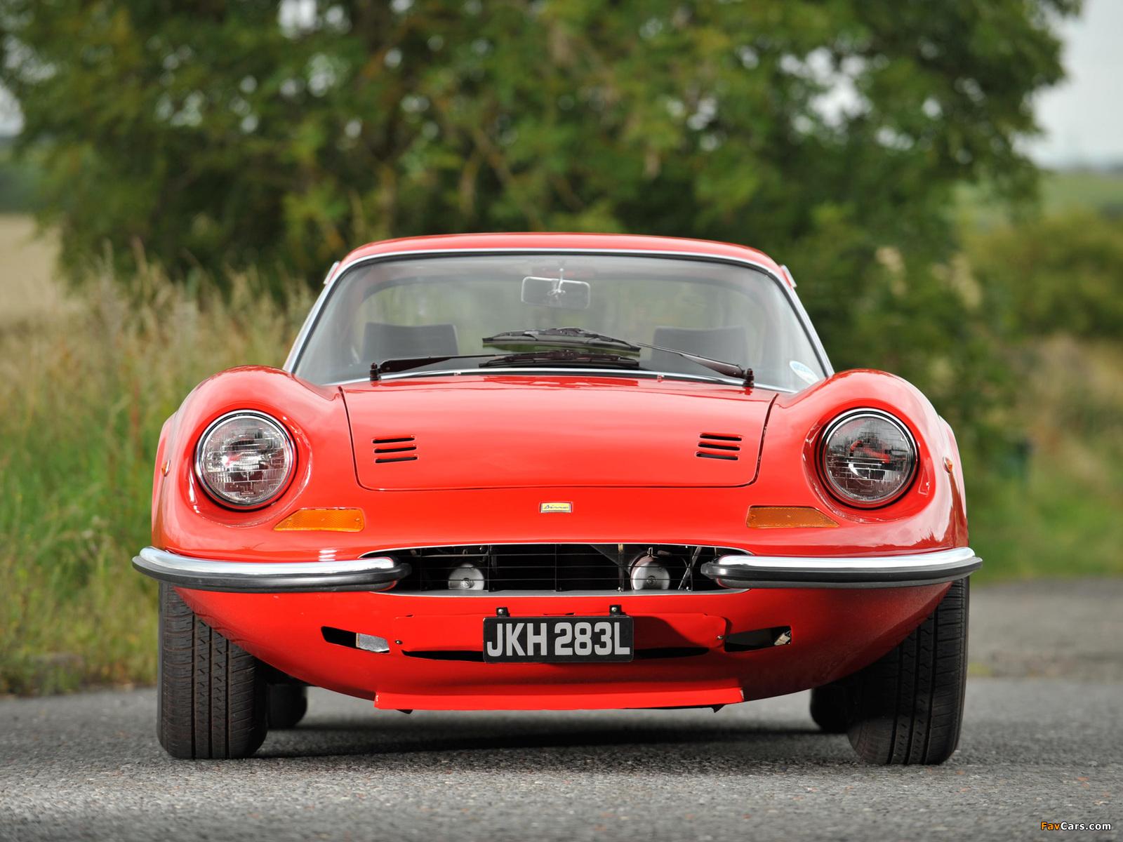 Ferrari Dino 246 Gt Uk Spec 1969 74 Pictures 1600x1200
