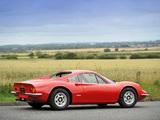 Ferrari Dino 246 GT UK-spec 1969–74 wallpapers