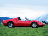 Ferrari Dino 246 GTS 1972–74 wallpapers