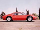 Images of Ferrari Dino 206 GT 1968–69