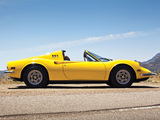 Images of Ferrari Dino 246 GTS US-spec 1972–74