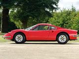 Photos of Ferrari Dino 246 GT UK-spec 1969–74