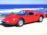 Pictures of Ferrari Dino 206 GT 1968–69