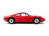 Pictures of Ferrari Dino 246 GT UK-spec 1969–74