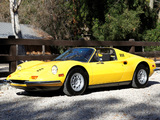 Ferrari Dino 246 GTS US-spec 1972–74 wallpapers